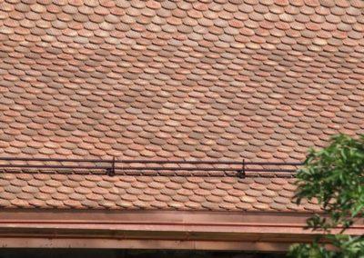 Ferblanterie couverture façade