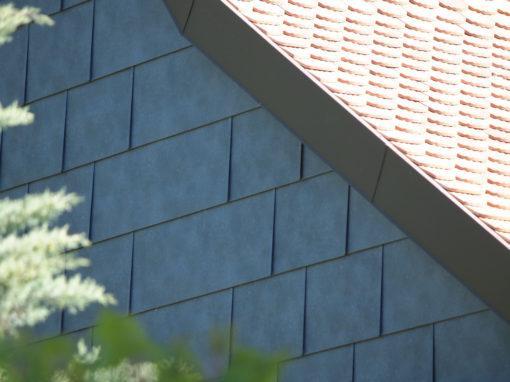 Pose de façades et ferblanterie