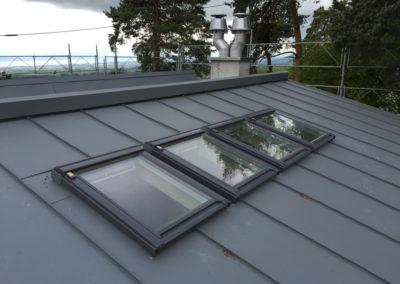 Fenêtres de toit - Réalisations