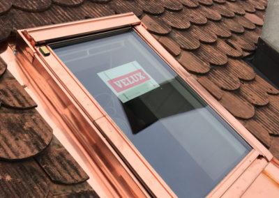 Fenêtre de toit - Réalisations