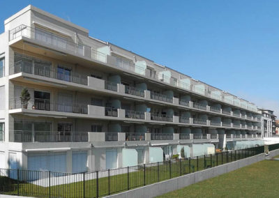 Ferblanterie couverture résidences du Parc Yverdon