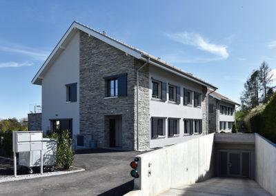 Ferblanterie couverture toiture villas jumelle la rippe