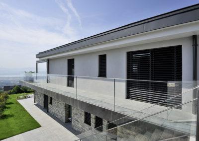 Ferblanterie couverture villas Arzier