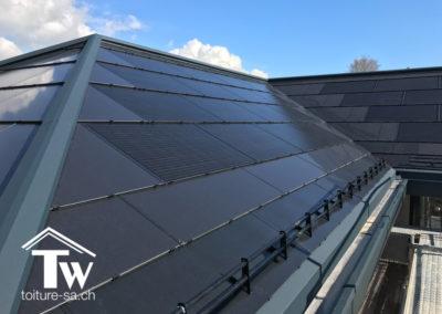 Panneaux photovoltaÏque toiture Soltop