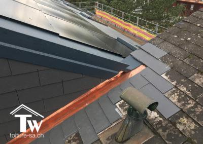 Rénovation énergétique toiture Gland