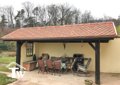 Rénovation énergétique toiture tuile plate
