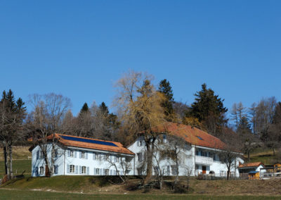 Rénovation résidence la Rochette Longirod