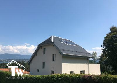 Transformation énergétique toiture Chambésy